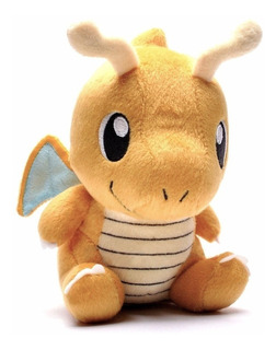 Peluche Pokemon Dragonite 17 Cm Pokémon Go Nuevo