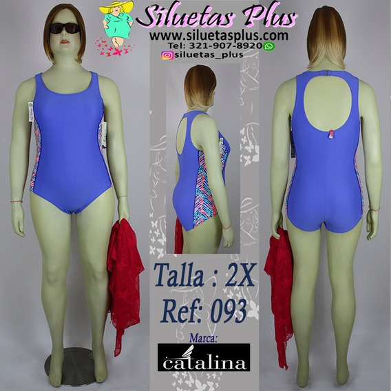 Vestido De Baño Talla 2xl