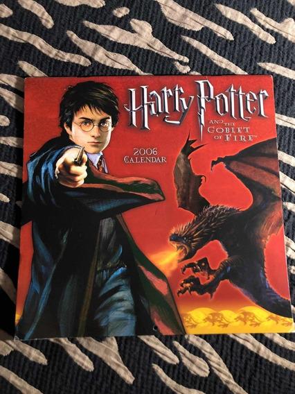 Calendário 06 Importado Harry Potter Raro Único