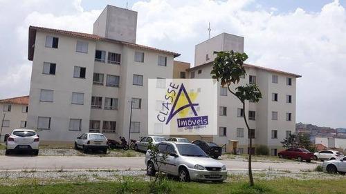 Apartamento Com 2 Dormitórios À Venda, 49 M² Por R$ 82.000,00 - Jardim Olinda - Mauá/sp - Ap0690