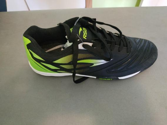 Zapatos Futsal Rs21 Negro/verde Talla 37 - Nuevos