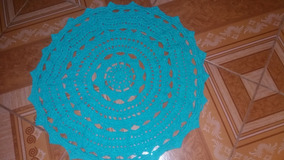 Tapete Circular De Crochê