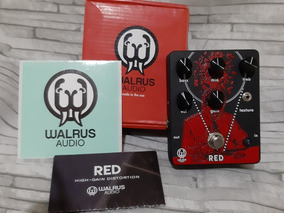 Pedal Walrus Red Distortion