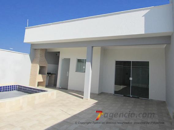 Ch100 Casa Térrea Nova Lado Praia Piscina Churrasqueira