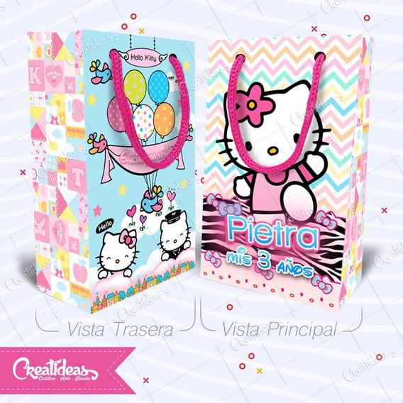 Kitty Nena Varon Bolsitas Golosineras Personalizada Pack X30