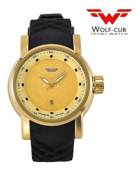 Relógio Masculino Wolf Cub 6500
