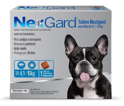 Antipulgas Nexgard Cães 4,1 A 10kg 1 Tablete