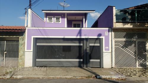 Lindo Sobrado Em Jardim Santa Francisca  -  Guarulhos - 19320