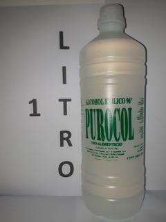 Alcohol Etilico Purocol 96 Grados X 1 Lt Calidad Fradealco