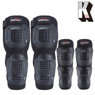 Kagogo - Protector De Espinilleras Para Adulto, Codo Y Ro