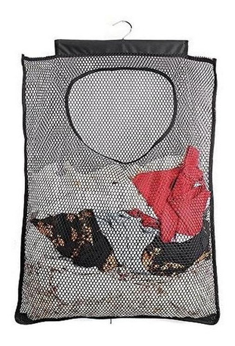 Imagen 1 de 5 de Alyer Cesta De Malla Para La Colada Plegable Para Colgar Ces