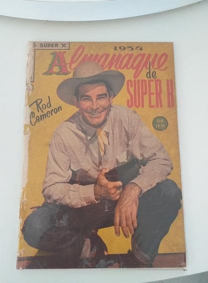 Almanaque Do Super X 1954 (frete Gratis)