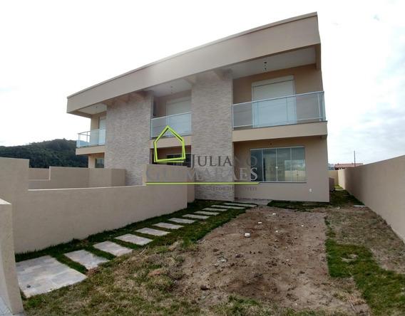Casa Sobrado Com Escritura Publica Residencial À Venda, Próximo Á Praia Dos Ingleses, Florianópolis. - Ca00133 - 32829785