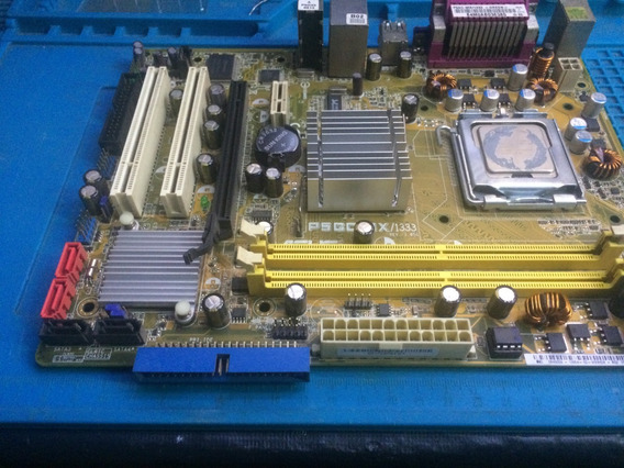 Placa Mãe Desktop Intel Lga 775 Ddr2 Asus P5gc-mx/1333