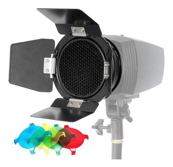Rebatedor Bandoor Flash C/ Colmeia E Filtros De Cor K150