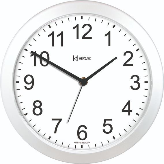 Relógio De Parede Herweg 660095-21 Fala As Horas