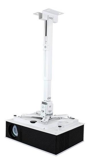 Soporte Proyector 20kg Universal Cañon Ajustable Techo Pared