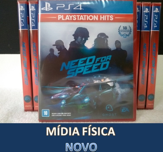 Need For Speed Ps4 Mídia Física Lacrado Em Português