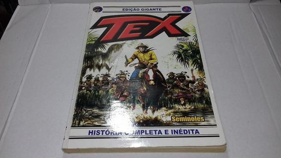 Gibi Hq Tex Gigante Nº22 Seminoles