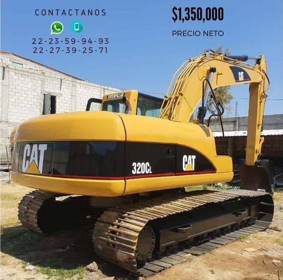 Excavadora Caterpillar 320 C L Año 2002 Precio Neto
