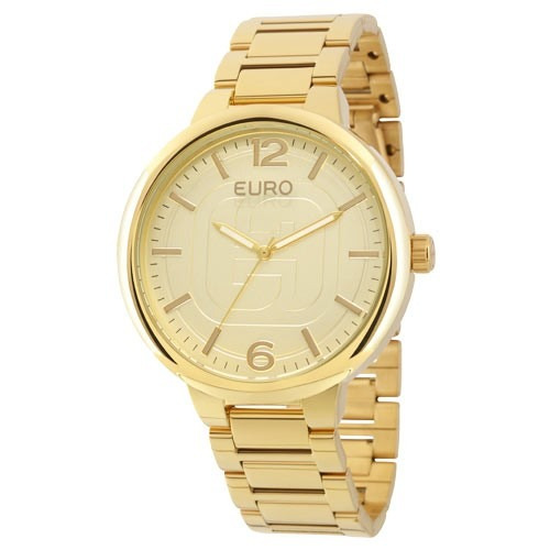 Relógio Euro Feminino Dourado Eu2036lyt/4d