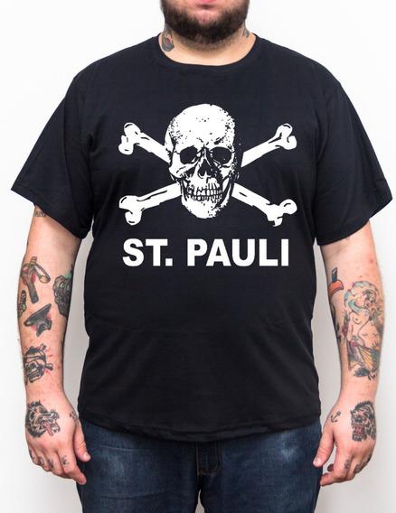 Camiseta St Pauli - Plus Size - Tamanho Grande