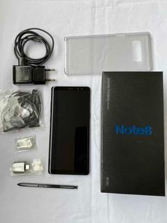 Samsung Galaxy Note 8 128gb Dual 4g Preto Tela Sombra iPhone