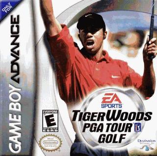 Tiger Woods Pga Tour Golf Game Boy Advance