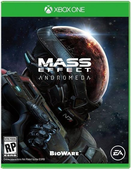 Mass Effect Andromeda Xbox One Mídia Física Novo Lacrado
