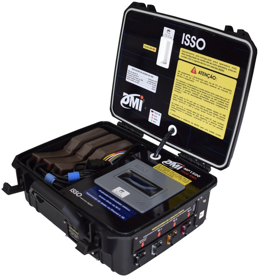 Dmi Mp1500 Maleta Medição E Análise Elétrica Lan Wi-fi E 3g