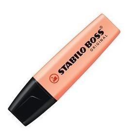 Resaltador Pastel Stabilo Boss Naranja