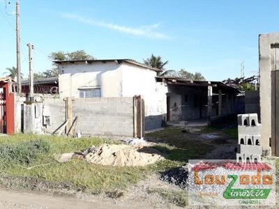 Casa Para Venda Em Peruíbe, Josedy, 1 Dormitório, 1 Banheiro, 2 Vagas - 2529