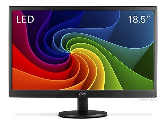 Monitor Led 18.5 Pol. Aoc Widescreen E970svnl
