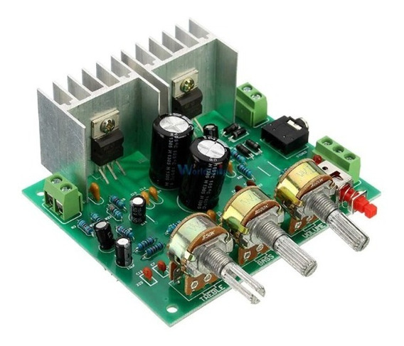 Kit Amplificador 2 Canais 2.0 15 W + 15 W Tda2030 Hi Fi