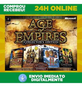 Age Of Empires 1 E 2 - Pc + Expansões + Traduções Envio 0s