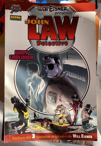 Imagen 1 de 1 de John Law Detective, Will Eisner, Norma Comics C8