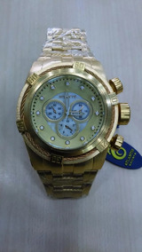 Relógio Masculino Atlantis Bolt Dourado Frete Grati