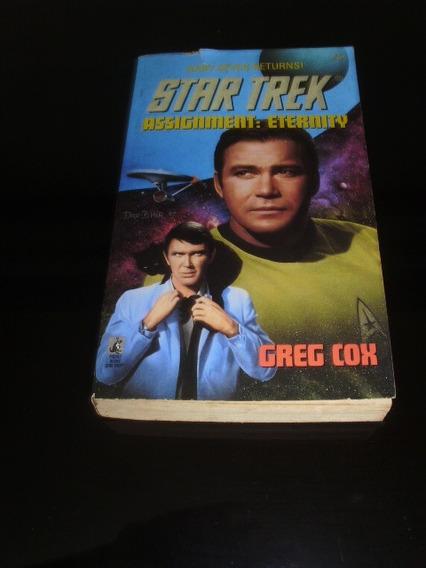 Livro Star Trek Assignment: Eternity Jornada Nas Estrelas