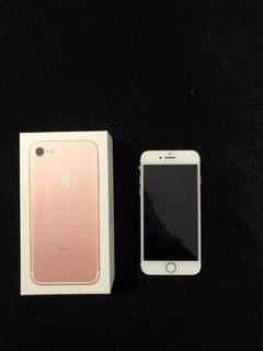 I Phone 7 Ouro Rosa 32gb Perfeito Estado