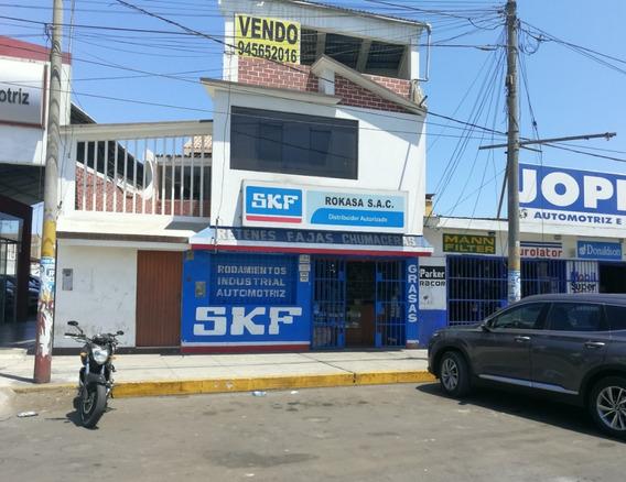 Vendo Casa Local Comercial En Chimbote