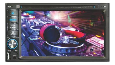 Stereo Roadstar Doble Din Pantalla Gps Usb Bluetooth Dvd 6.2