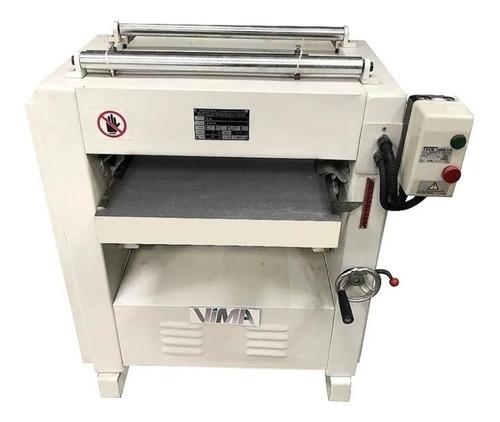 Imagem 1 de 5 de Desengrossadeira 500mm 3 Facas 5cv Trifásico Vima - Pl-500