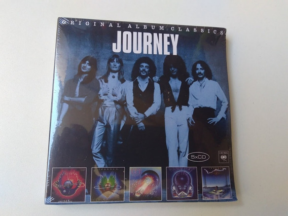 Journey- Box Original Ambum Classics 5 Cd- Novo