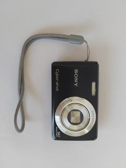 Camera Digital Sony Ciber-shot Dsc-w520 Semi Nova