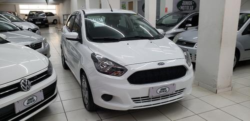 Imagem 1 de 13 de Ford Ka 1.5 Se Branco 2017 Flex