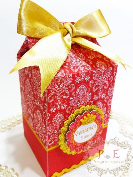 Princesa Caixa Milk Lembrancinhas Personalizadas Kit 20 Unid