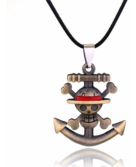 One Piece Collar Envio Gratis Ancla Luffy Anime Zoro Sanji