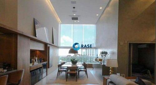 Imagem 1 de 20 de Penthouse Com 2 Dormitórios À Venda, 163 M² Por R$ 2.950.000,00 - Brooklin - São Paulo/sp - Ph0005