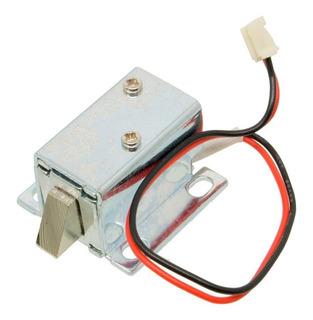 Mini Cerradura Electrica Con Selenoide De 6v 12v.