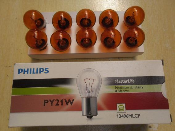 Kit C/ 20 Lampadas 1 Polo Pino Y Amarela 24v 13496 Philips